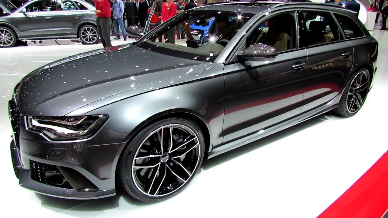 Audi rs6 interior