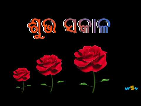 Good morning    Subha Sakaala    Odia whatsapp status video
