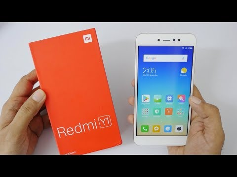Xiaomi Redmi Y1 Budget Smartphone Unboxing & Overview