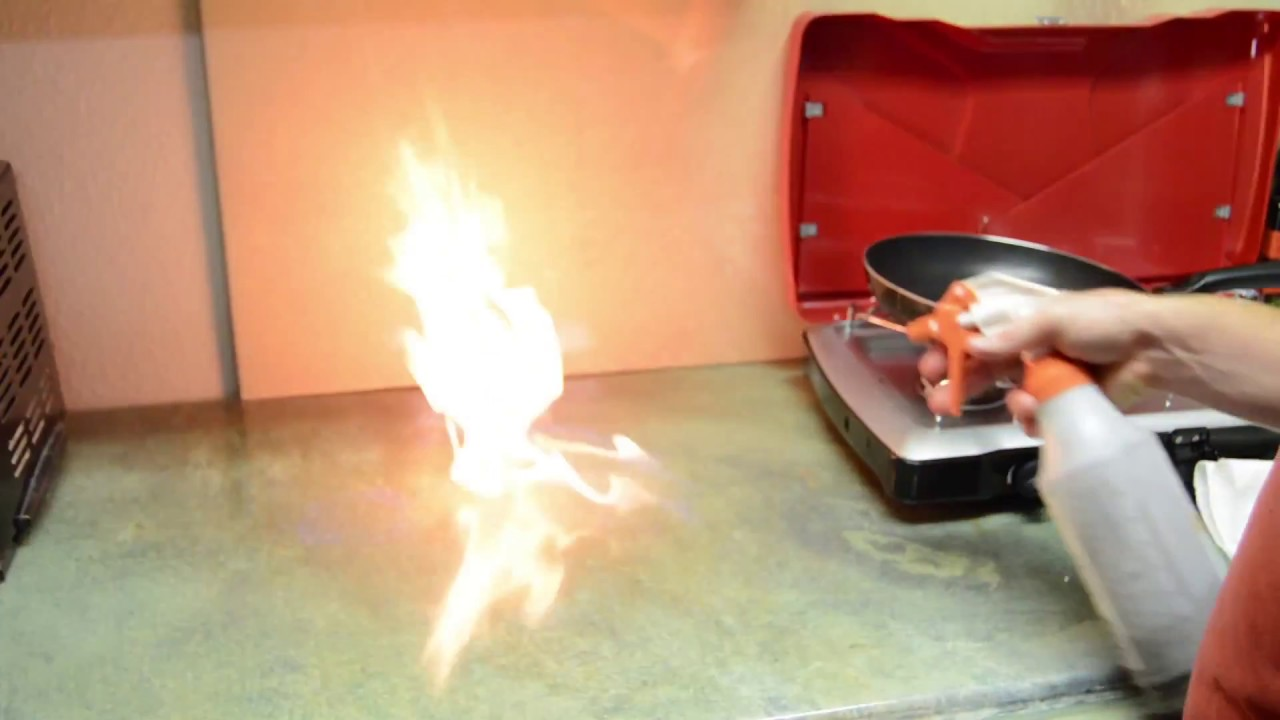 Countertop Epoxy Com Fx Poxy Countertop On Fire With No Damage Youtube