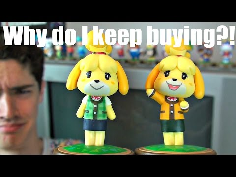 THE STUPIDEST AMIIBO..my addiction is hurting me..