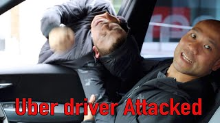 uber driver Attacked - Self Defense