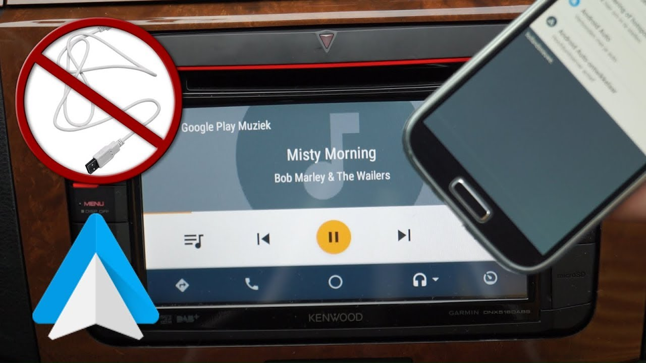 How To use Android Auto Wireless!