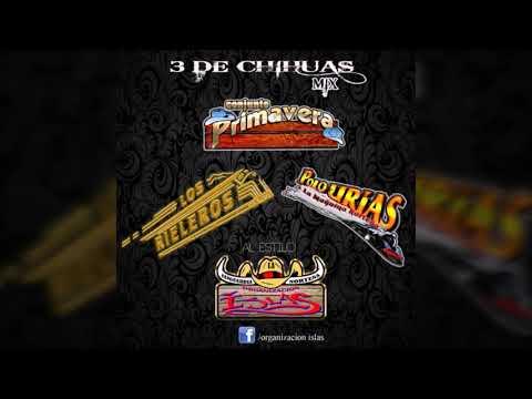 3 DE CHIHUAS MIX *RIELEROS*PRIMAVERA*POLO URIAS*