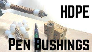 UK Pen Blanks HDPE Finishing Bushings