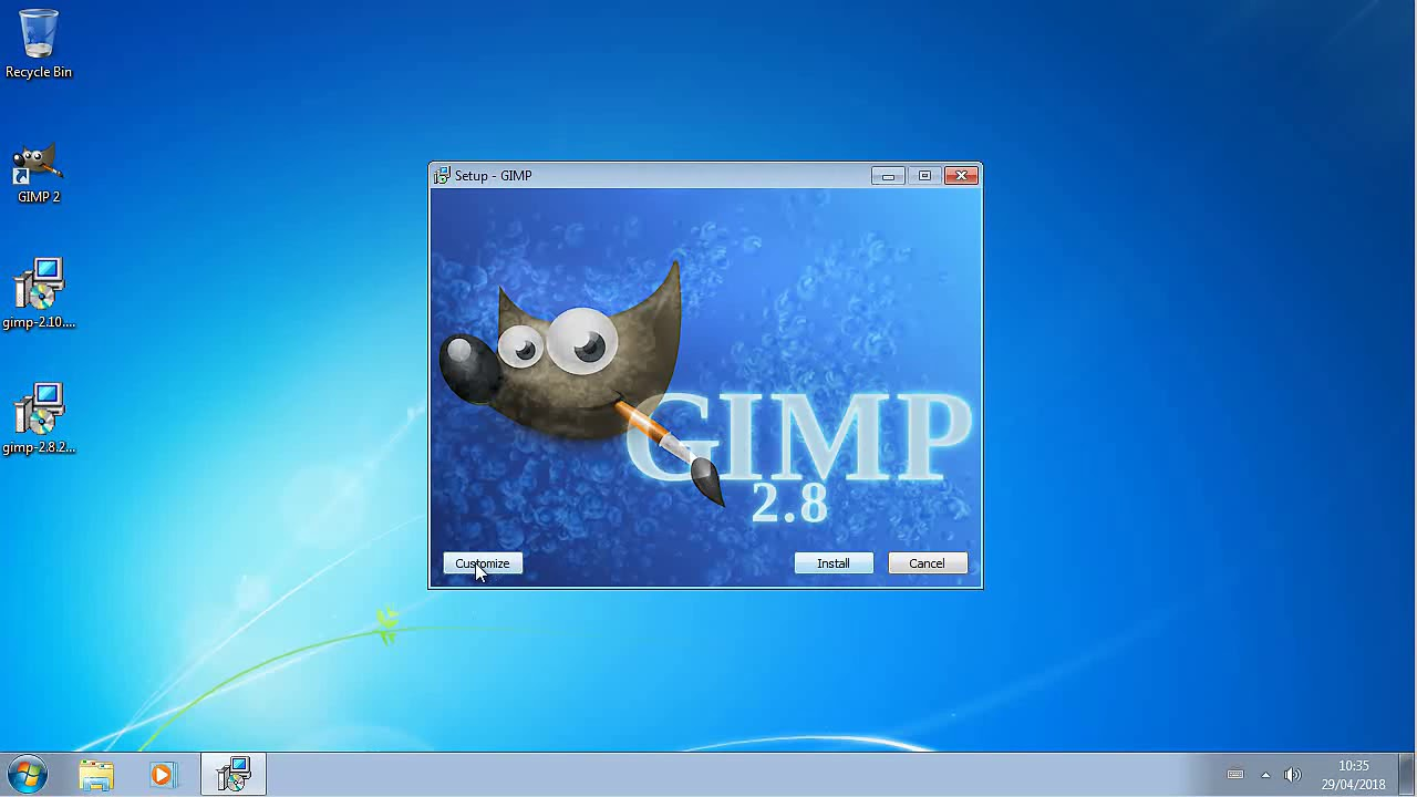 Gimp 2.0 Gimp 2 10 Installer Removes Previous Versions Of Gimp
