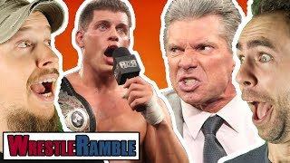 WWE Vs. ROH & New Japan! | WrestleRamble