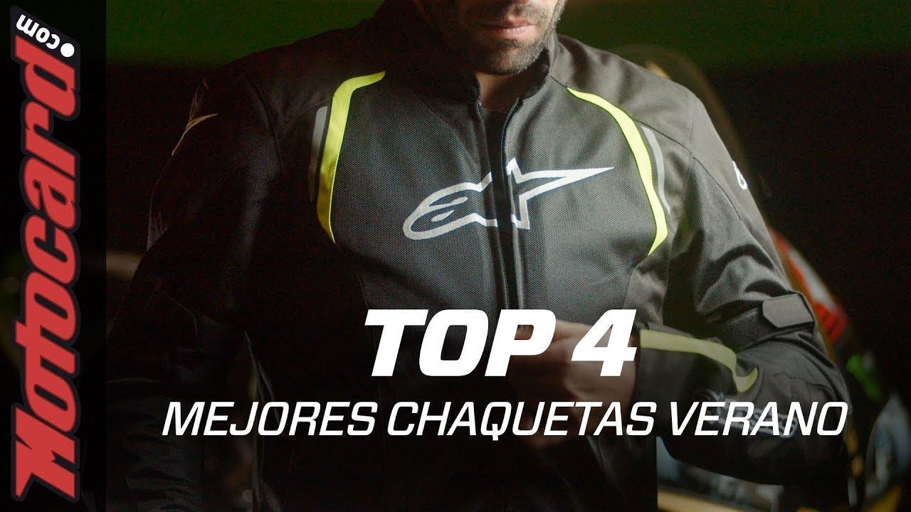 Mojado Cordero mecanógrafo  Las 4 mejores CHAQUETAS de moto de VERANO 2019! - YouTube