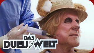 Griechenland: Ralf Moeller bekommt Hamsterbacken gespritzt! | Duell um die Welt | ProSieben