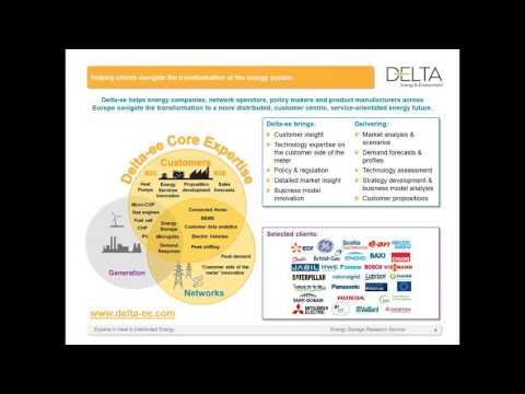 Delta-ee Residential energy storage, what s the reality behind the hype