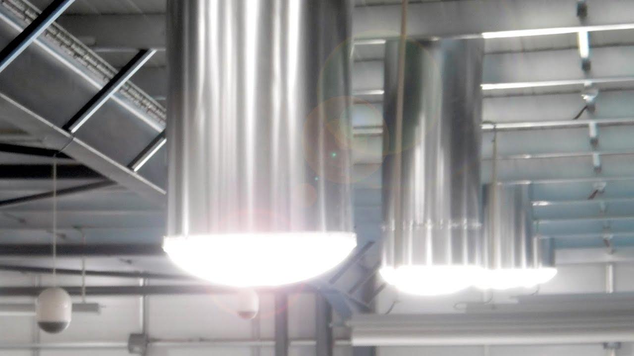 Solar Light Tube  Lighting Without Energy Cost  Youtube