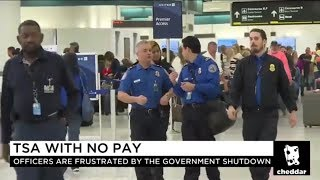 TSA Officers Cling to Hope and Pennies During the Shutdown