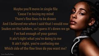 Jorja Smith - Fine Lines | Lyrics Songs