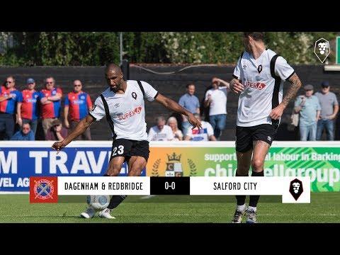 Dagenham & Redbridge 0-0 Salford City - National League 01/09/18