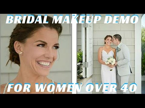 Apply Bridal Makeup Step Step : Classic Wedding Makeup Tutorial for Women Over 40 Step by ...