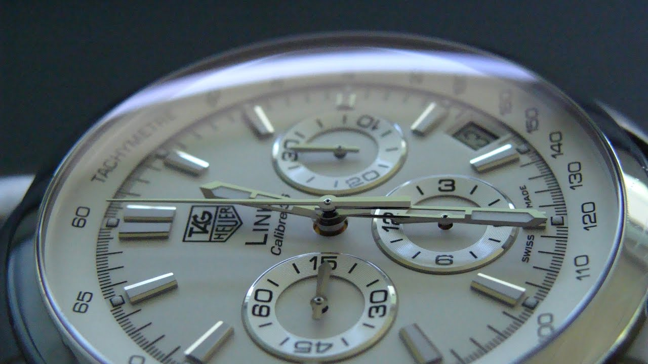 9aca529662a 18th Watch: TAG Heuer LINK Calibre 36 - YouTube