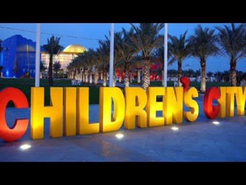 Children's city in Creek park –  Dubai  UAE