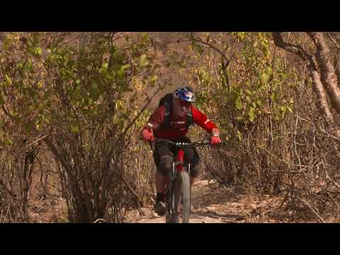 Swiss mountain bike enduro legend René Wildhaber explores Dhofar's camel trails