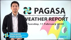 Public Weather Forecast Issued at 4:00 AM February 11, 2020