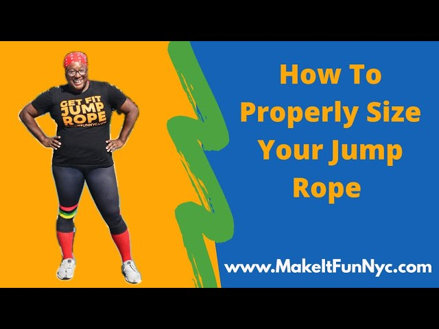 How To Properly Size Your Jump Rope