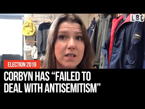 """Swinson: Jeremy Corbyn has """"absolutely failed to deal with antisemitism in the Labour Party""""."""