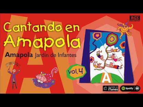 Cantando en Amapola. Canciones infantiles. Amapola Jardín de Infantes. Full Album