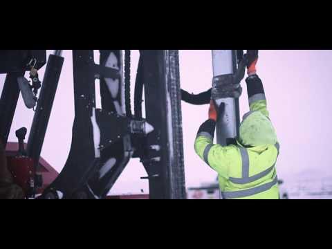 Landwehr Renewable Energy - Solar Pile Installation
