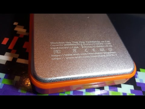 Inside the 200000mah Shenzhen Hao Ying Xing Tech. power bank