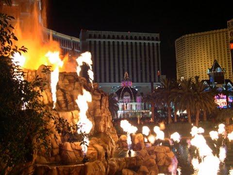 The Mirage Hotel Volcano Full Show 1080p Youtube