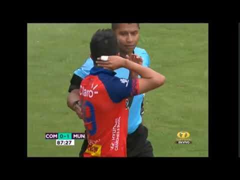 Clásico 308: Gol de Municipal ante Comunicaciones - Jornada 13 del Torneo Apertura 2019