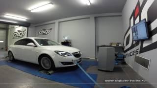 Opel Insignia 2.0 cdti 140cv Reprogrammation Moteur @ 193cv Digiservices Paris 77 Dyno