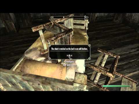 TES V: Skyrim - 123: Getting Clues At Hjerim