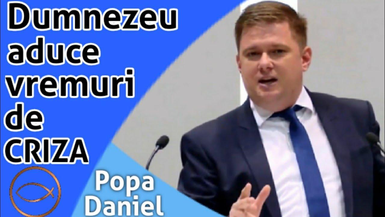 Dumnezeu aduce vremuri de criză - Daniel Popa   predici 2020