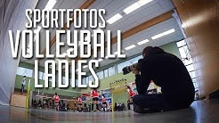 Sportfotografie Volleyball Ladies | Tutorial, Hallensport, Tipps | Nils Langenbacher VLOGS DEUTSCH