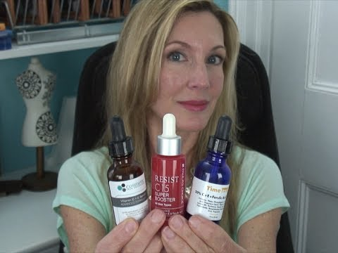 Vitamin C Serum Comparison ~ Timeless, Paula's Choice, Cosme