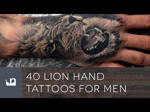 40 Lion Hand Tattoos For Men