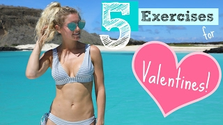 Valentines Workout - IT'S ALL LOVE | Rebecca Louise