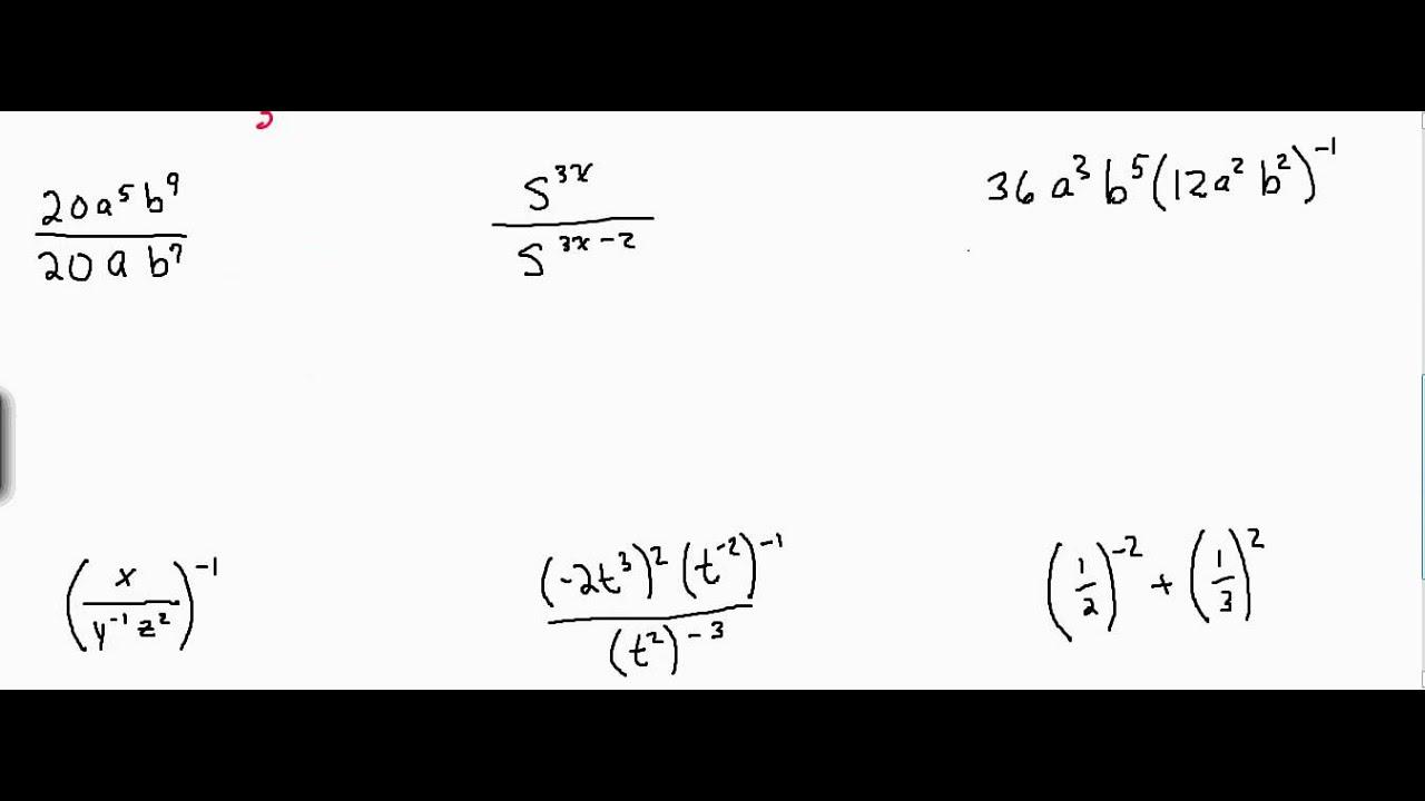 5 2 Dividing Monomials