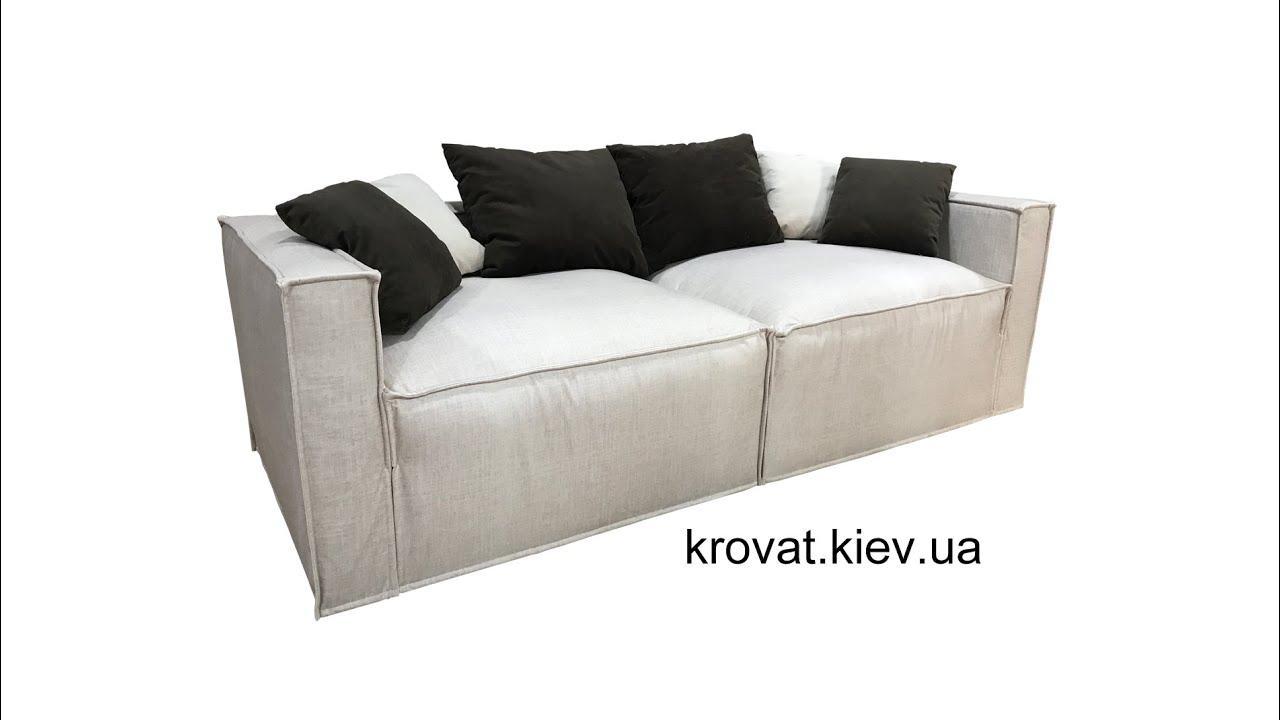 Модульный диван Лофт на заказ для кухни студии