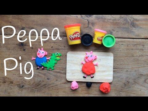 Figuras con plastilina Play doh Peppa Pig, la envidia entre las figuras de plastilina