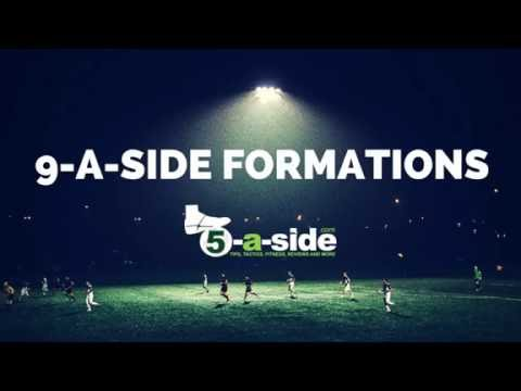 9-a-side Tactics - Soccer Strategies and Formations