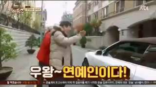 Seohyun car & coincidentally met Hodong