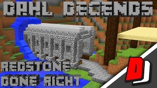 Dahl Decends - Lets Play Minecraft 1.11.2 - REDSTONE DONE RIGHT!!! - E11