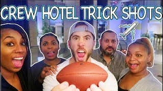 THE LIFE OF A FLIGHT ATTENDANT Ep.13 | HOTEL TRICK SHOTS | VLOGMAS DAY 5