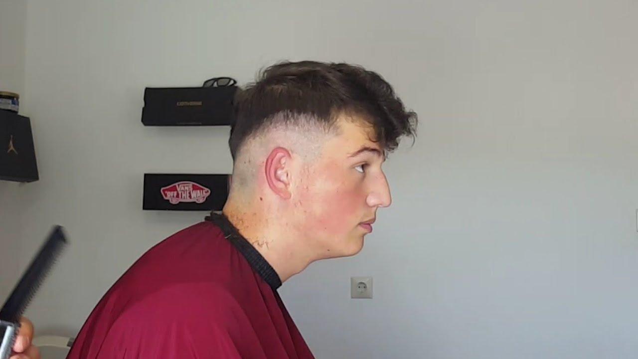 Hair Tutorial #10  Übergang selber schneiden Männer / Skin fade men