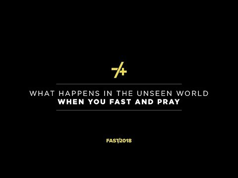 'What Happens in the Unseen World When We Fast and Pray' with Jentezen Franklin