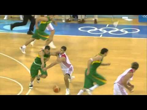 Beijing Olympic 2008 Lithuania vs Croatia