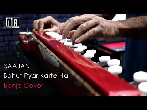 Bahut Pyar Karte Hai Banjo Cover ( Saajan) | Bollywood Instrumental Song | By Music Retouch
