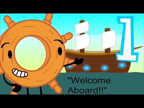 """Objects at Sea Episode 1: """"Welcome Aboard"""""""