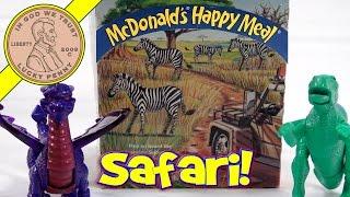 Дісней Енімал Кінгдом набір іграшок, 1998 Макдональдс щасливий їжа серії